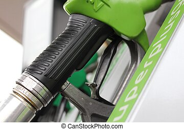 petrol gaz pump green