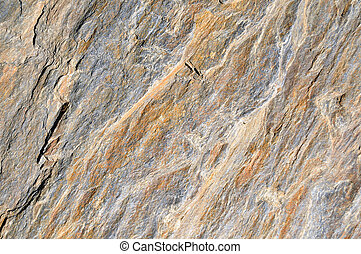 Sandstone Texture - A brown and gray sandstone rock texture