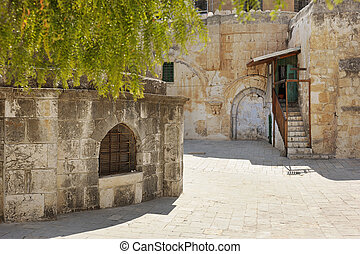 Church of the Holy Sepulchre, the main Christian shrine in...