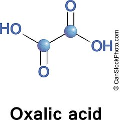 Oxalic acid oxalate - Oxalic acid is a reducing agent and...