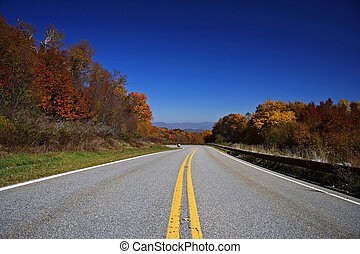 Cherohala Scenic Skyway - Scenic shot of the Cherohala...