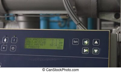 Process control at the beer factory