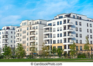 Development area with new houses - Development area with new...