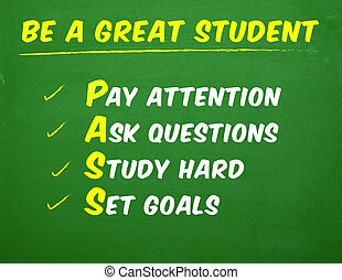 Great Student Classroom Poster - Classroom Poster for...