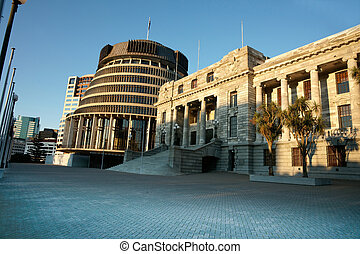 Government Buildings, New Zealand.