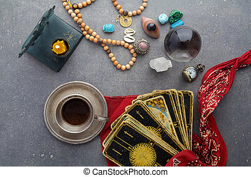 Composition of esoteric objects, used for healing and...