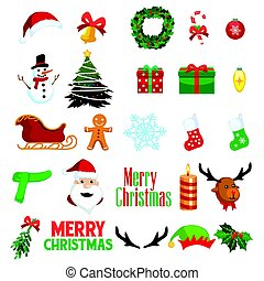 Christmas Winter Clipart Icons