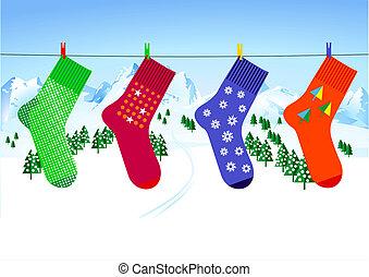 x-mas sock