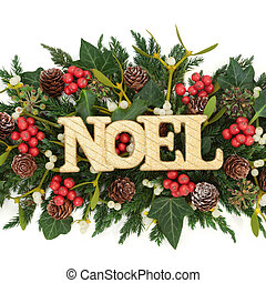 Festive Noel Decoration
