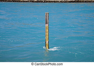 Lake Benmore Salmon Farm Water Level Gauge