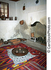 tradizionale, turco, cucina