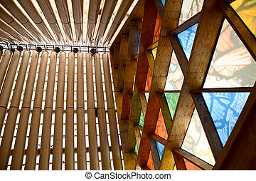 Cardboard Cathedral Christchurch New Zealand Earthquake...