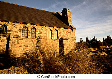Lake Tekapo New Zealand - Lake Tekapo Church of the Good...