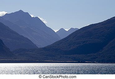 Lake Wakatipu Glenorchy Scenic Drive New Zealand