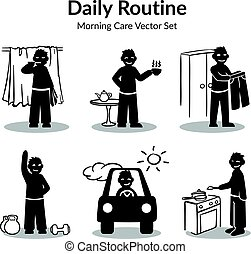 Morning Daily Routine Collection - Morning daily routine...