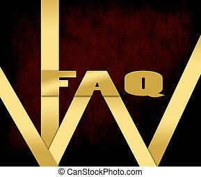 Golden color word faq