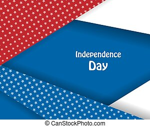 Independence day vector design