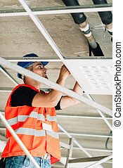 Installation worker