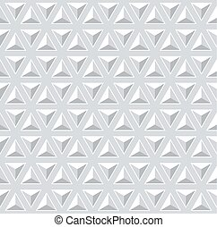 Seamless 3d pattern. Geometric triangles texture. - Seamless...
