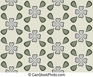 Repeatable background with flowers for website, wallpaper, textile printing, texture, editable