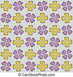 Repeatable background with flowers for website, wallpaper, textile printing, texture, editable,