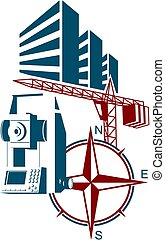 Surveying and construction symbol - Surveying and...