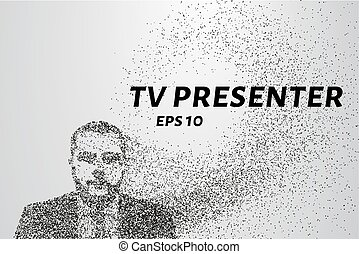 The presenter of the particles. The presenter consists of...
