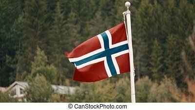 Flag Of Norway - Cinematic Style