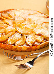 Caramel Apple Tart - Whole caramel apple tart