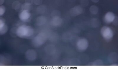 blurred sunlight reflected on water