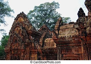 Ruins in Siem Reap, Cambodia