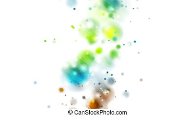 Colorful shiny lights abstract video animation - Colorful...
