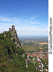 San Marino Rocca della Guaita fortress