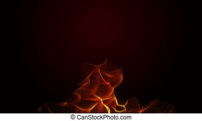 fire flame abstract