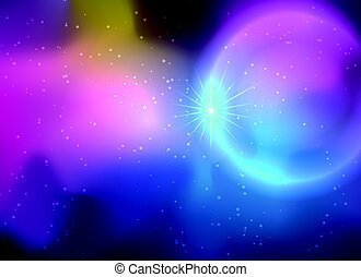 Galaxy background in deep colors. - Galaxy background in...