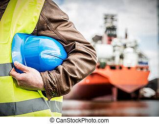 casco, astillero, seguridad, construcción naval, ingeniero