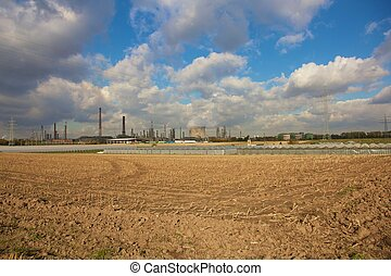 Industrie combined with agricutlutre - Industrie plant in...