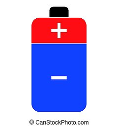 Battery the color icon .
