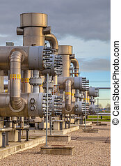 Detail of Natural gas plant - Detail of Recently upgraded...