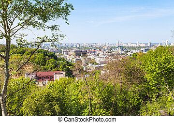 Zamkova Hora hill and Podil district in Kiev - travel to...