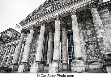 Reichstag building in Berlin, Germany - Reichstag building