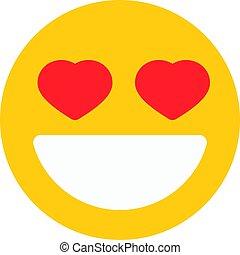 fall in love emoji