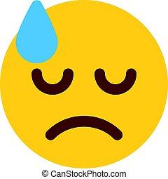 dissapointed emoji