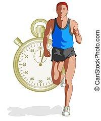 runner male