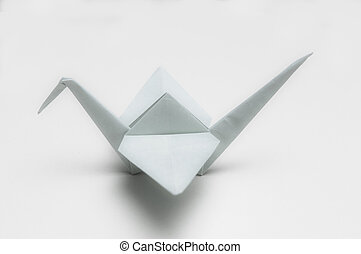 hand crafted object made from paper