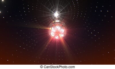 Disco Ball Background - Disco ball seamless looping video