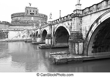 Bridge of St Angel and Castle of the Holy Angel