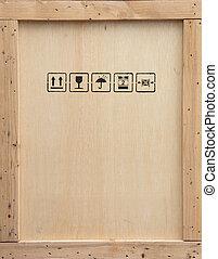 de madera, cajón