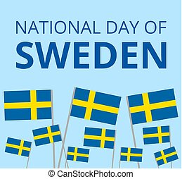 National day of Sweden - Swedish National Day with Sweden's...