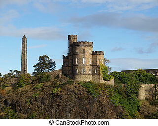 Governor House on Calton Hill in Edinburgh, Scotland